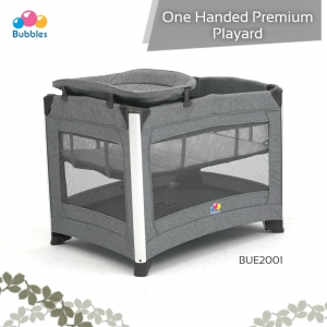 One Handed Premium Playard - Graphite