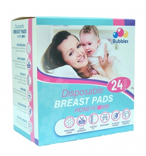 Disposable Breastpads Honeycomb 24 Pads