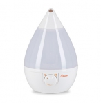 Drop Shape Ultrasonic Cool Mist Humidifiers - White