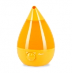Drop Shape Ultrasonic Cool Mist Humidifiers - Orange