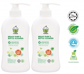 Breast Pump & Bottle Cleanser 500ml TWIN PACK