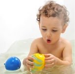 Natural Rubber Bath Toy - La the Butterfly Fish