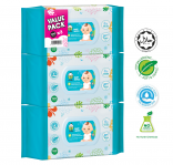 Baby Wipes 100 sheets Triple Pack