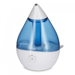 Droplet Ultrasonic Cool Mist Humidifiers - Blue/White