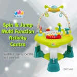 Spin & Jump Multi Function Activity Center (Green)