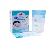 Thermal Sensor Double Ziplock Breastmilk Bags 3.4oz 100ml (25pcs)
