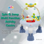 Spin & Jump Multi Function Activity Center