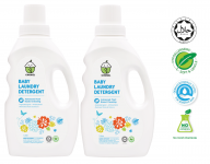 Baby Laundry Detergent 1 litre TWIN PACK