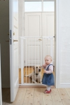 Extra Tall Premier Pressure Gate (White) with 1 EXT included