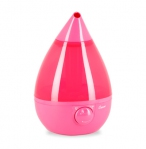 Drop Shape Ultrasonic Cool Mist Humidifiers - Pink
