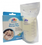 Double Zip-Lock Breast Milk Storage Bags (25 bags) - 7oz